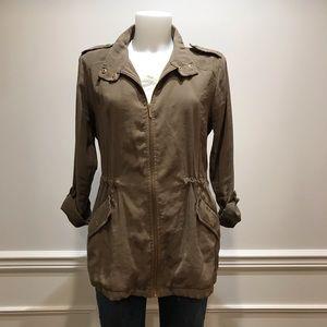 Zara rugged army green Utility Jacket